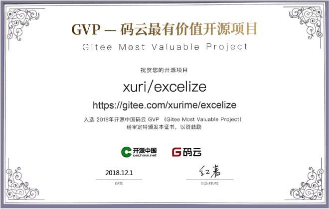 2018 年开源中国码云最有价值开源项目