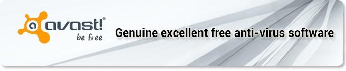 Avast! – Genuine excellent free anti-virus software