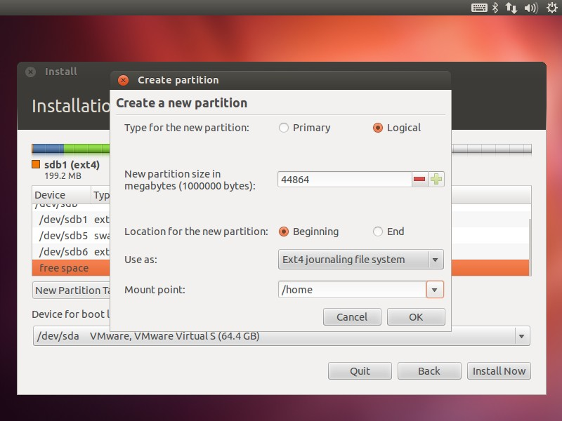 Install Ubuntu 12.04 and Windows 8 dual system