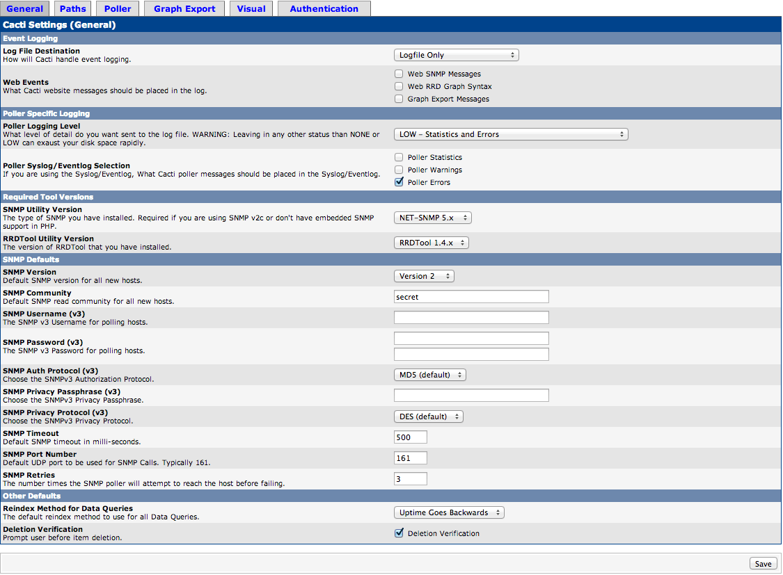 Install the Cacti Server Monitor on Ubuntu Server | Ri Xu Online