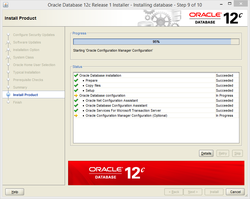 Install Oracle Database 12c on Windows | Ri Xu Online