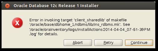 Install Oracle Database 12c on Ubuntu Desktop 12 04 LTS | Ri Xu Online