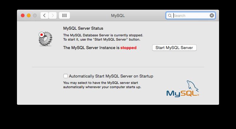 Automatically Start MySQL Server on OS X Yosemite