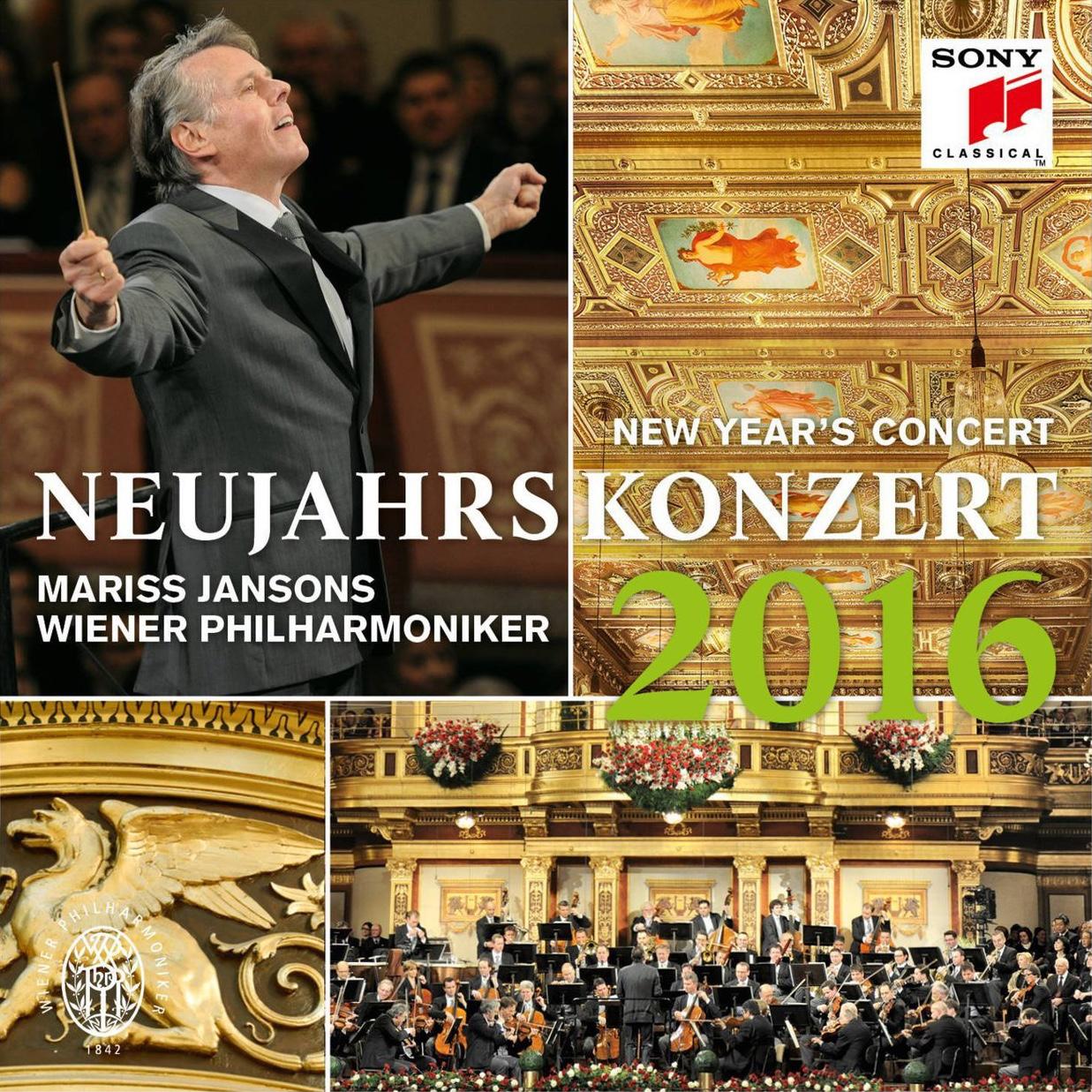 Wiener Philharmoniker Vienna New Year's Concert 2016