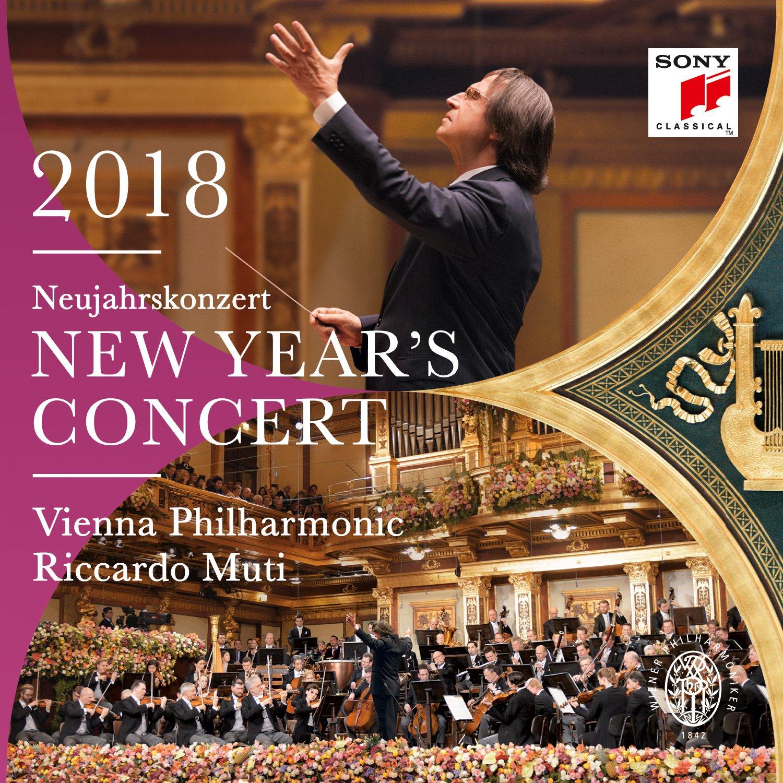 Wiener Philharmoniker Vienna New Year's Concert 2018